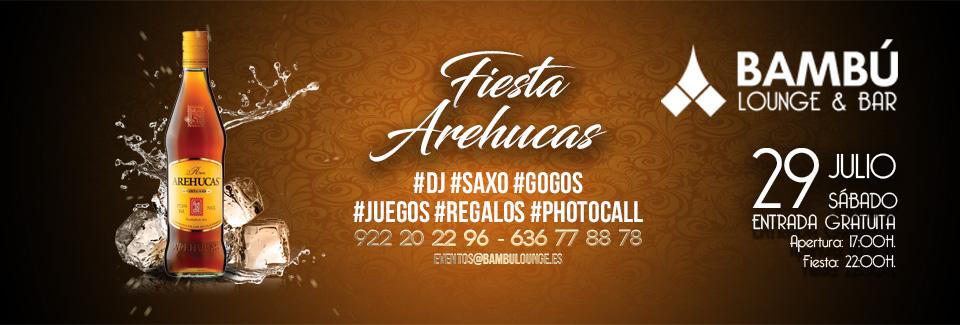 Fiesta Arehucas · Entrada Libre ·