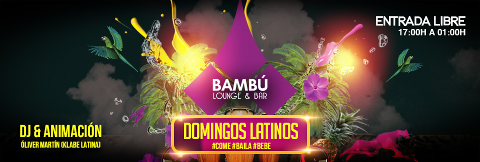 """Todos los Domingos son Latinos con """"Talleres gratuitos de baile"""""""