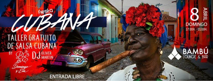 Fiesta Cubana – Bambú Lounge Bar Tenerite